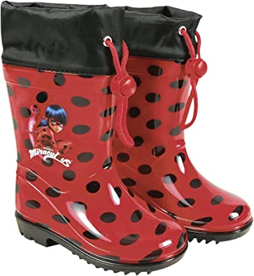 botte de pluie ladybug