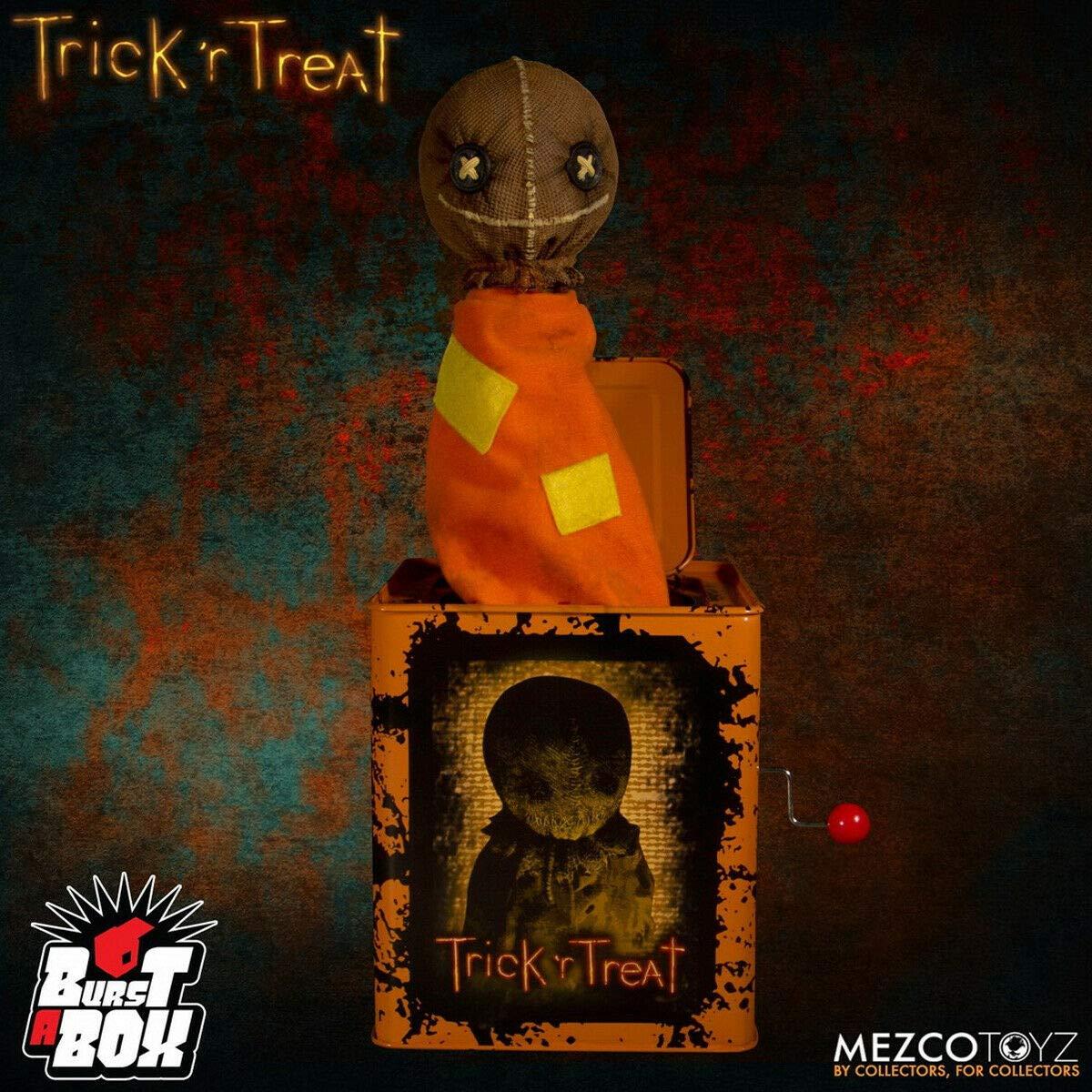 Mezco Toyz, LLC Sam Burst-a-Box Trick 'r Treat Standard by Mezco Toyz, LLC
