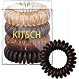 Amazon Price History for:Kitsch 4 Piece Hair Coil Set, Brunette