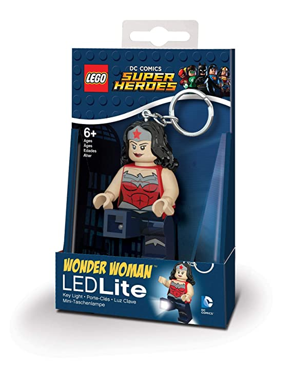 LEGO DC Comics Super Heroes - Wonder Woman LED Key Chain Light