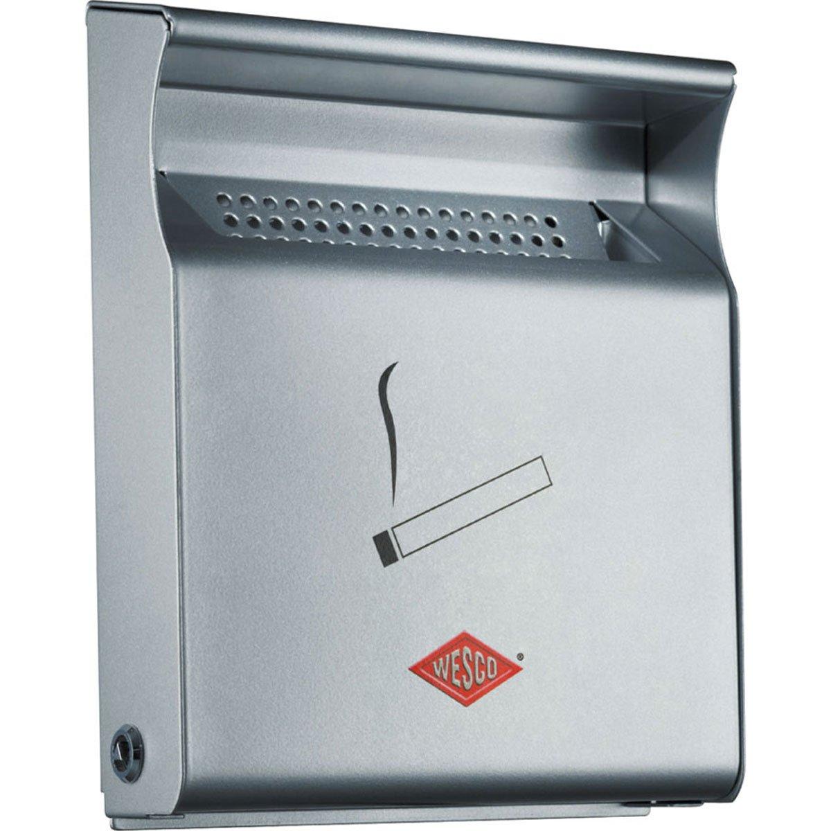 Wesco 395 001-11 - Portacenere da parete, colore: Argento