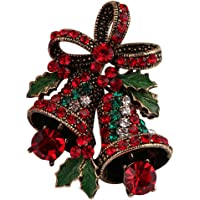 FERVENT LOVE Vintage Fashion Rhinestones Brooch for Women