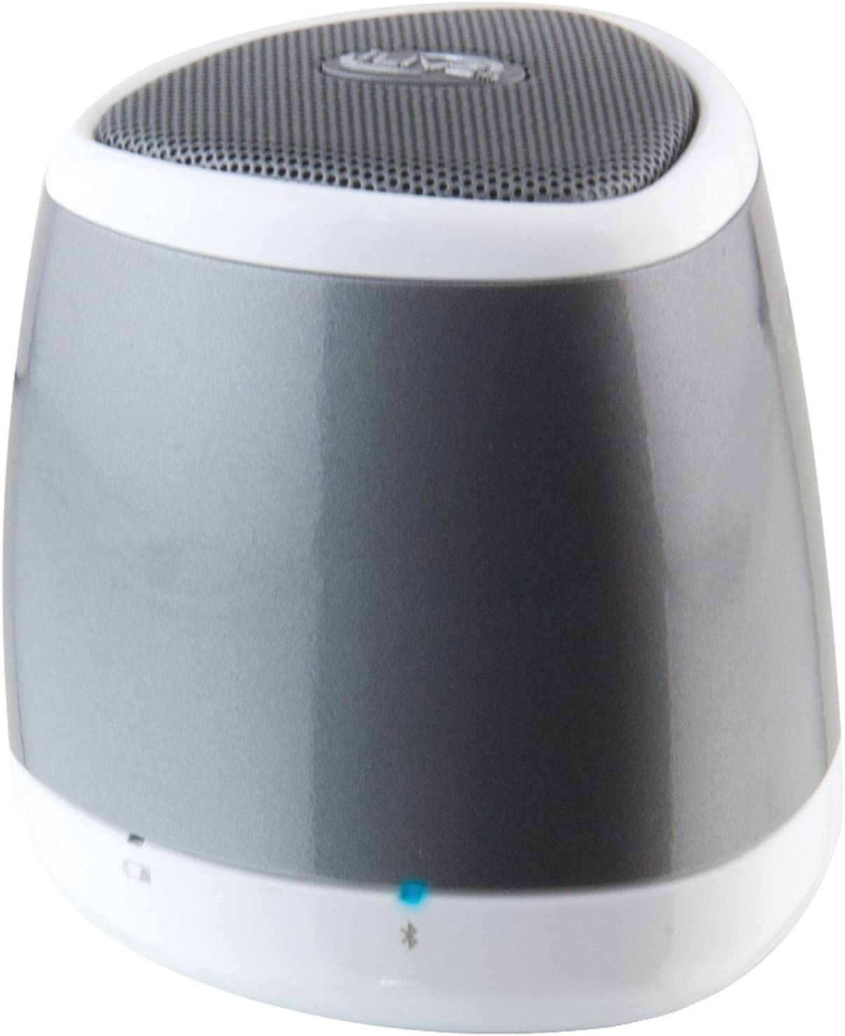 iLive Isb9s Blue Portable Bluetooth Speaker (Silver)