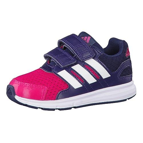 adidas LK Sport CF I - Zapatillas Unisex, Color Rosa/Blanco/Gris: Amazon.es: Zapatos y complementos