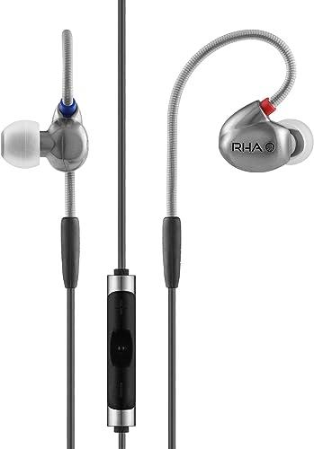 RHA T10i High Fidelity, Noise Isolating In-Ear Headphone