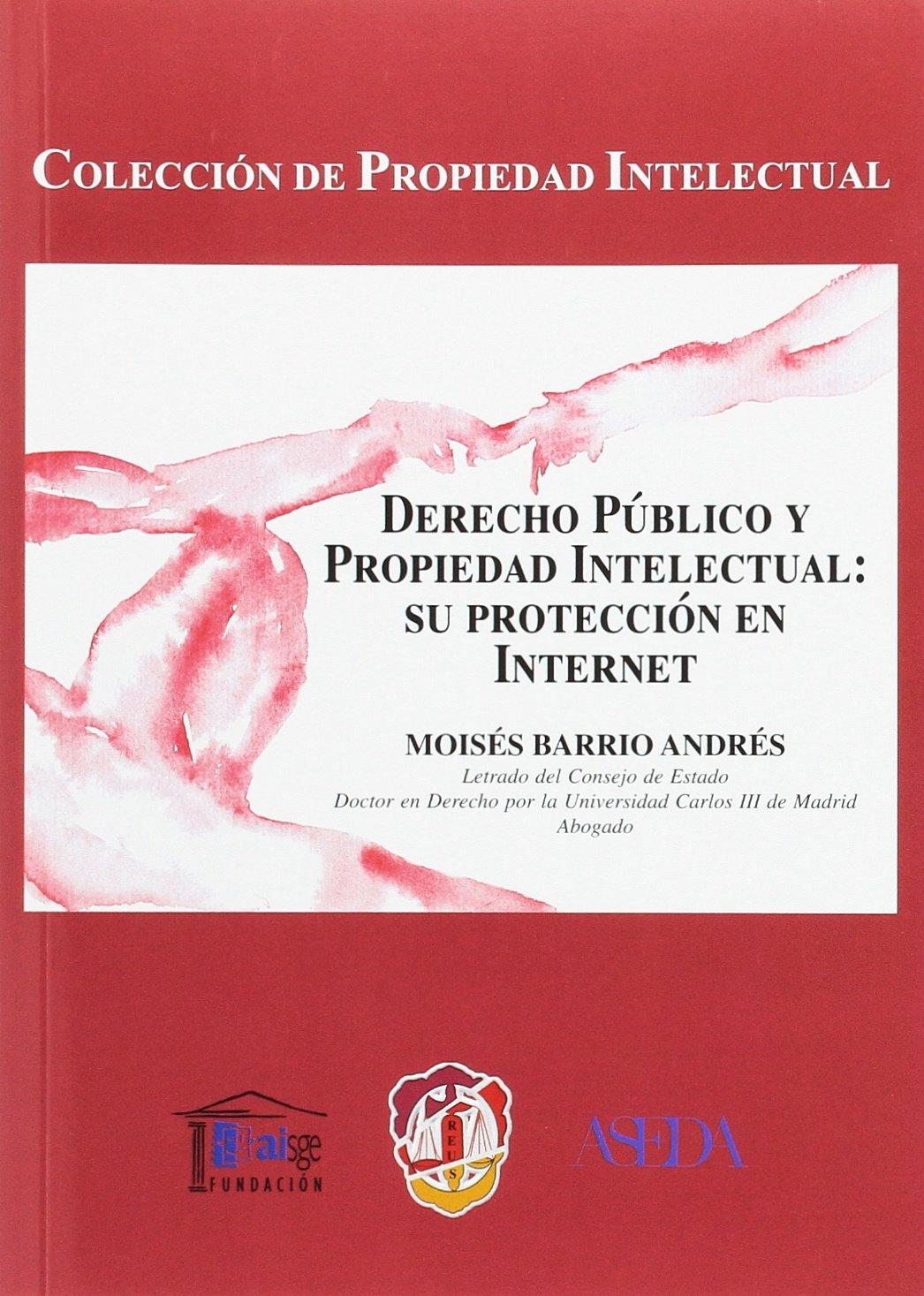 Derecho público y propiedad intelectual: su protección en internet: Amazon.es: Moisés Barrio Andrés: Libros