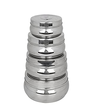 King International 100% Stainless Steel Food Storage Containers | Storage  Box | Silver Storage Boxes