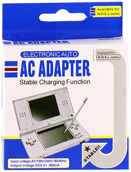 Amazoncom Wall Charger For Nintendo Ds Lite Lifetime Warranty