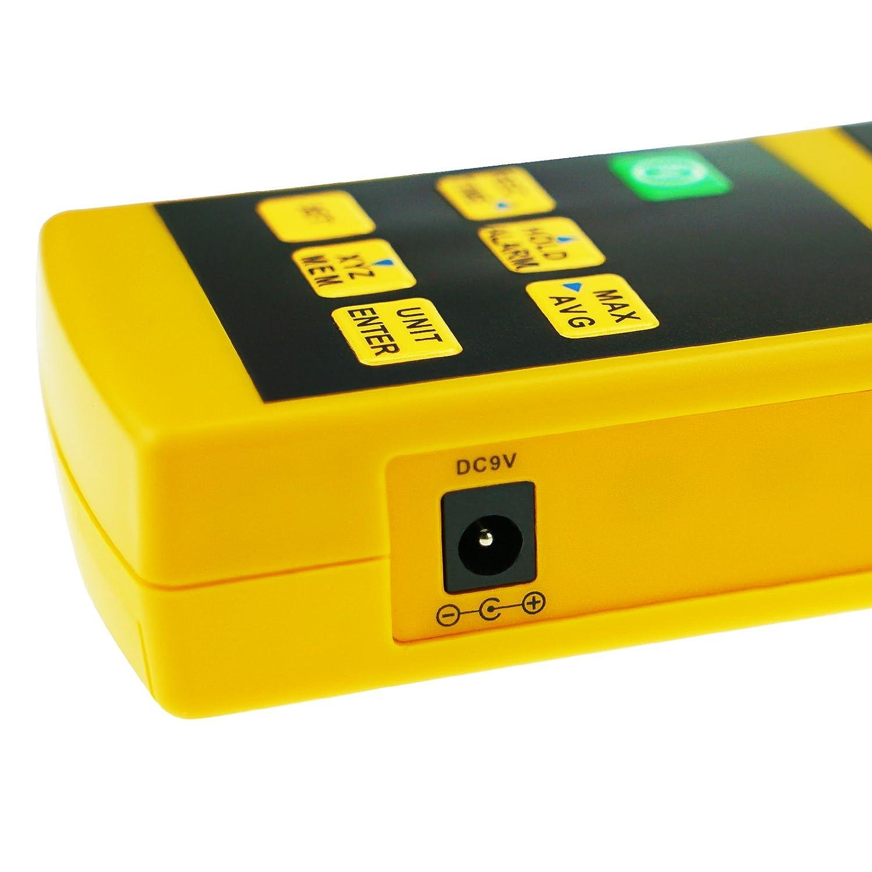 Triaxial Tri-Axis Medidor De Resistencia De Campo RF Detector De Prueba De Radiación 10MHz A 8GHz