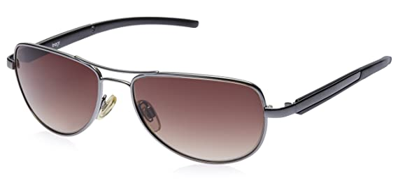 Image Aviator Sunglasses (Gunmetal) (IMS273C6SG) Sunglasses at amazon