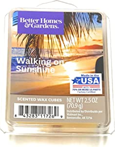 Better Homes & Gardens Scented Wax Cubes, 2.5 oz (Walking On Sunshine, 2.5 Oz)