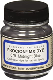 product image for Jacquard Products Procion MX Dye, 2/3-Ounce, Midnight Blue