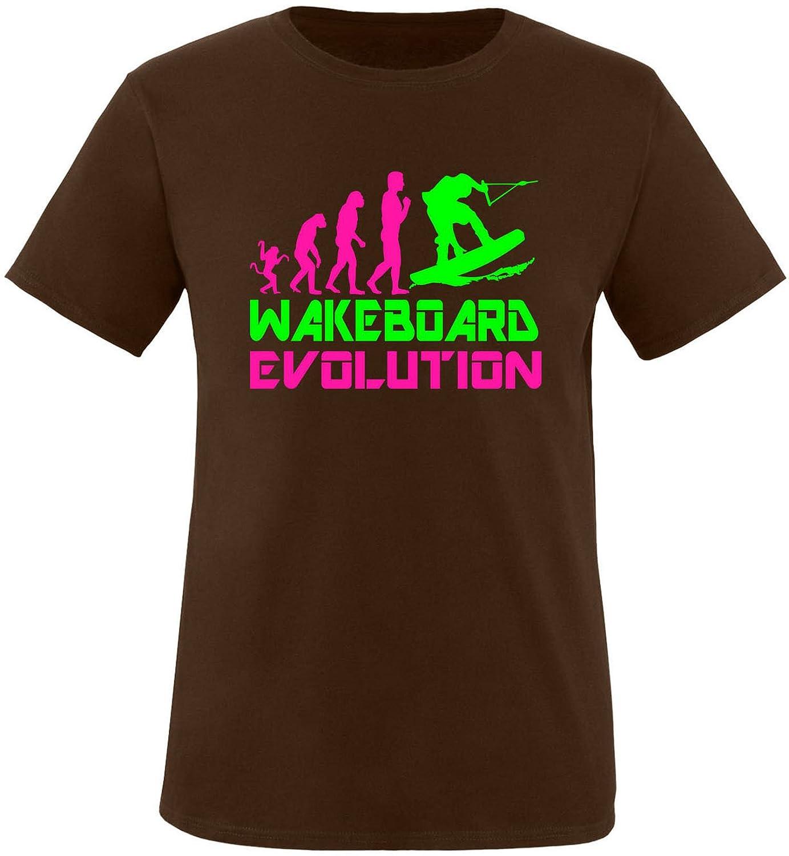 EZYshirt® Wakeboard Evolution Herren Rundhals T-Shirt: Amazon.de: Bekleidung