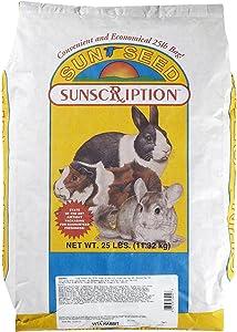 Sun Seed Company Sss13045 Vita Mix Daily Diet Rabbit Food, 25-Pound