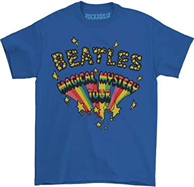 The Beatles Magical Mystery Tour Royal Blue – Camiseta de Manga Corta para Hombre