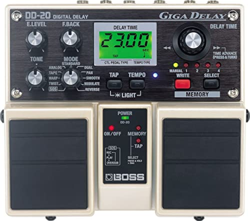 Boss DD-20 Giga Delay Digital Delay Pedal