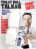 Farting Toilet Roll Talker - Makes Your Regular Toilet Paper Fart - Includes 7 Funny Fart Sounds - Have Rip-Roaring Fun With Your Friends & Family - Hilarious Gag Gift - Make Christmas a Gas!