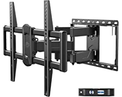 Mounting Dream Full Motion TV Wall Mount Swivel and Tilt for Most 42-75 Inch Flat Screen TVs, TV Mount Bracket with Articulat
