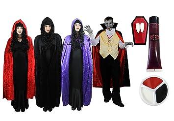Ilovefancydress Vampire Paar Kostum Verkleidung Fasching Karneval