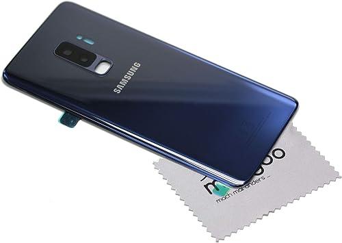 Tapa de batería Azul Blue para Original Samsung para Samsung Galaxy S9 Plus (G965F) con mungoo pantalla paño de limpieza: Amazon.es: Electrónica