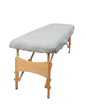 TowelsRus Aztex Tapa de sofá de masaje de valor clásico sin agujero para la cara, gris, elástica: Amazon.es: Hogar
