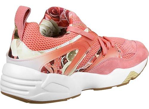 501a37370c1 Puma Bog X Careaux X Graphic Porcelain Rose/White-Pink-38: Amazon.ca ...