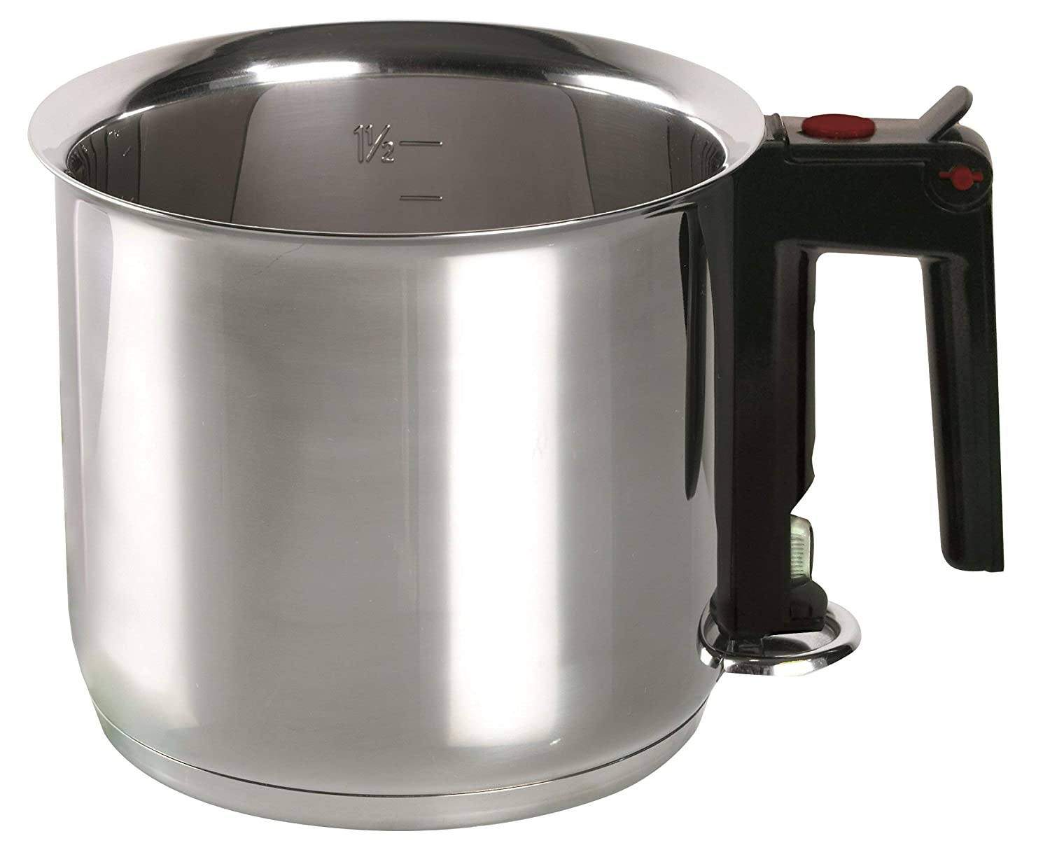 ELO 99414 Stainless Steel 1.6-Quart Double Boiling Simmer Pot Induction Ready