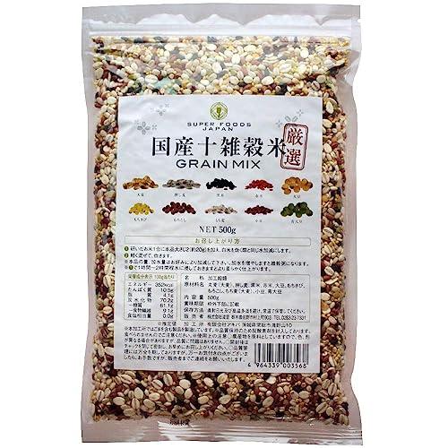 SUPER FOODS JAPAN 国産十雑穀米 GRAIN MIX