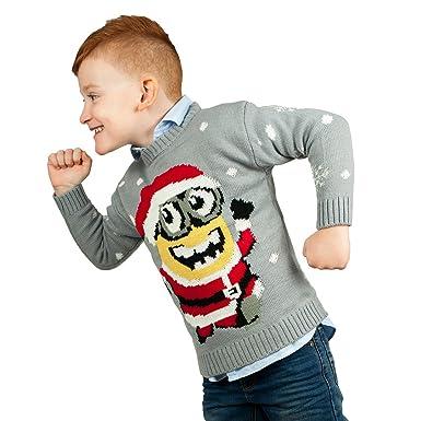 d7d1226e7 Boys Girls Kids Children Unisex Christmas Xmas Knitted Novelty ...