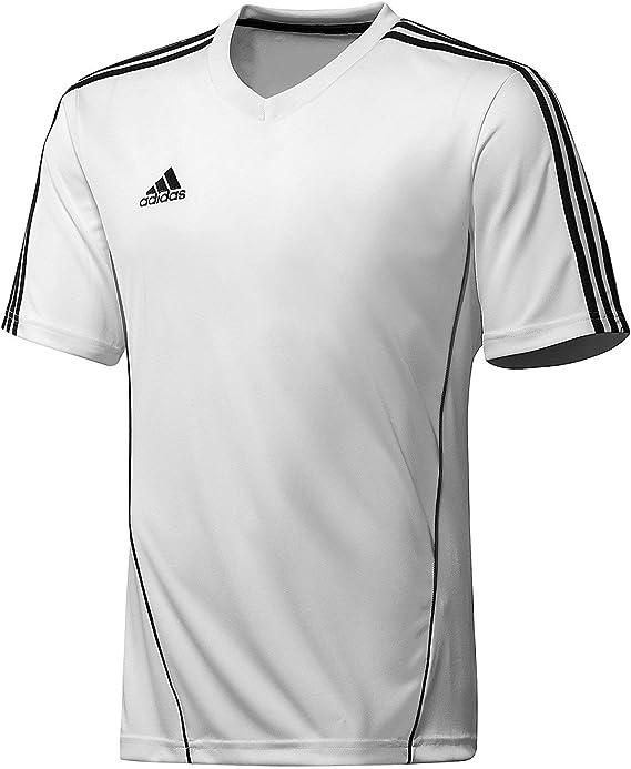 adidas Camiseta Estro Blanca-Negra: Amazon.es: Deportes y aire libre