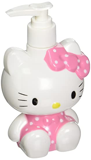 Hello Kitty Bottle Dispenser For Decorative Bathroom Bed Room Lotion Liquid Soap Accessories