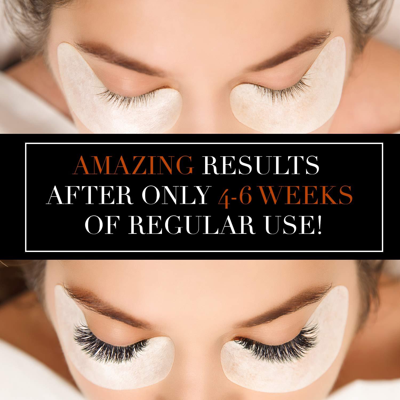 Eyelash Growth Serum Lash Booster – Eyebrow Enhancing Serum to Grow Longer and Thicker 8ml Made in Germany Eyelash Conditioner and Enhancer