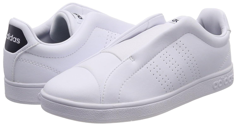 Womens Advantage Adapt Trainers, Bianco (Footwear White/Footwear White/Bold Green) adidas
