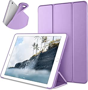 DTTO Case for iPad Mini 4,(Not compatible with Mini 5th generation 2019)Ultra Slim Lightweight Smart Case Trifold Stand with Flexible Soft TPU Back Cover for iPad mini4[Auto Sleep/Wake], Clove Purple