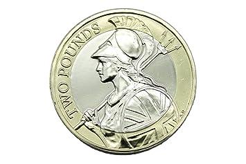 Royal Mint 2016 Uk Definitive Britannia Bu 2 Pfund Münze Amazonde