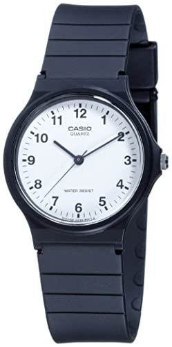 Casio Collection – Unisex-Armbanduhr mit Analog-Display und Resin-Armband – MQ-24