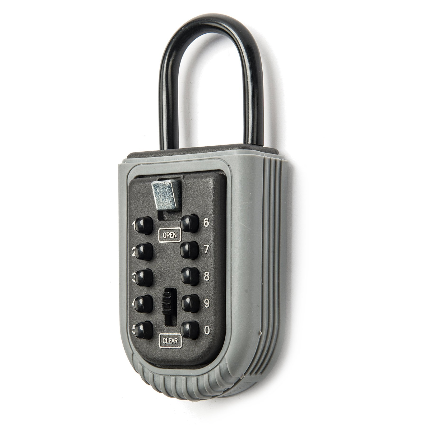CO-Z Wall Mounted Key Lock Box Waterproof with 10-Digit Push Button Combination for Guests, Tenants, Realtors, Contractors, Spare Key Storage at Home or Office by CO-Z (Image #2)