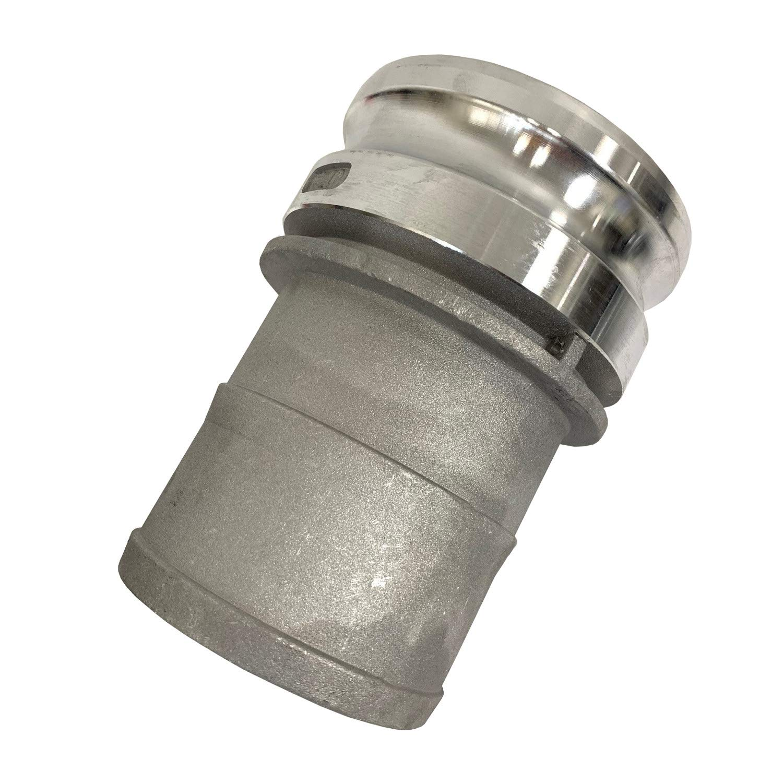 Aluminum Cam /& Groove 400E 4 Inch Male Camlock Adapter//Hose Fitting