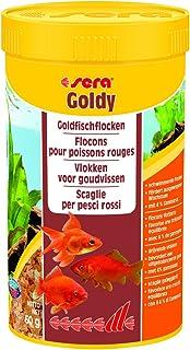 Sera Goldy, el alimento Principal para Peces pequeños a Base de Copos cuidadosamente Fabricados (