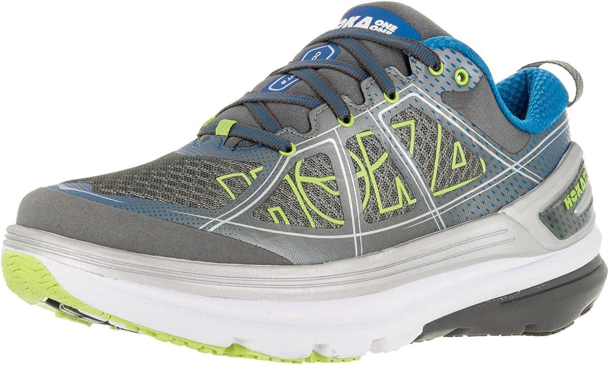 Zapatillas de running Hoka Constant 2 AW16, color Grey/directorie Blue, tamaño 11,5: Amazon.es: Deportes y aire libre