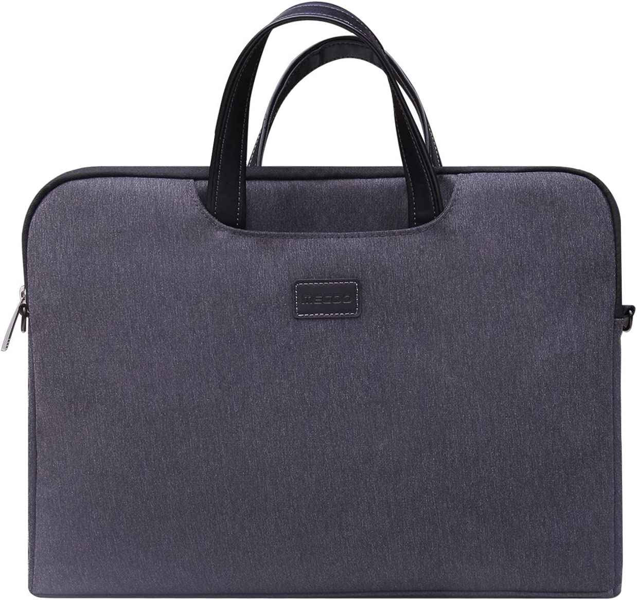 "Megoo 15inch Laptop Sleeve Case Handbag Briefcase for Surface Laptop 3/Book 2 15"" with Handle and Removable Shoulder Strap Compatible Surface Laptop 3/2/Book 2 13.5"" Surface Pro X/7/6/5/4/3 12.3"""
