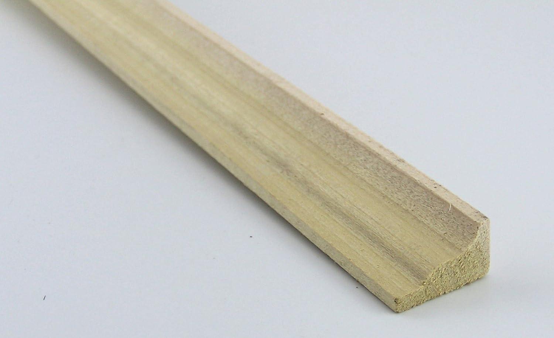 45cm. 5,53EUR//Meter unbehandelt. Zierleiste Krippenbau oder Puppenhaus Holz
