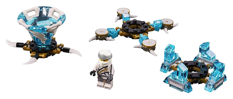 109 Pieces LEGO NINJAGO Spinjitzu Zane 70661 Building Kit