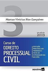 Novo curso de Direito Processual Civil - 12ª edição de 2019: Execução, processos nos tribunais e meios de impugnação das deci