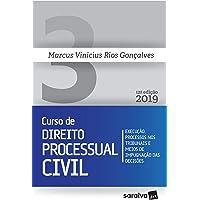 Novo curso de Direito Processual Civil - 12ª edição de 2019: Execução, processos nos tribunais e meios de impugnação das decisões