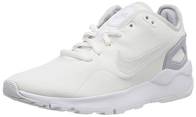 cheap for discount b7371 bea5b Nike WMNS LD Runner LW Se, Chaussures de Running Compétition Femme, Blanc  weiß-