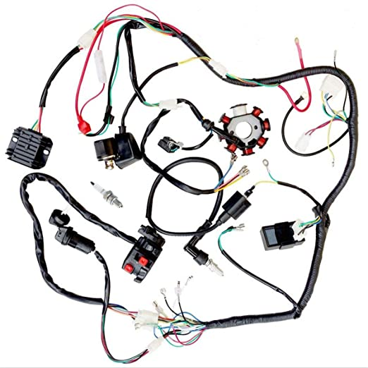 Four Track Chinese Atv Wiring Harness