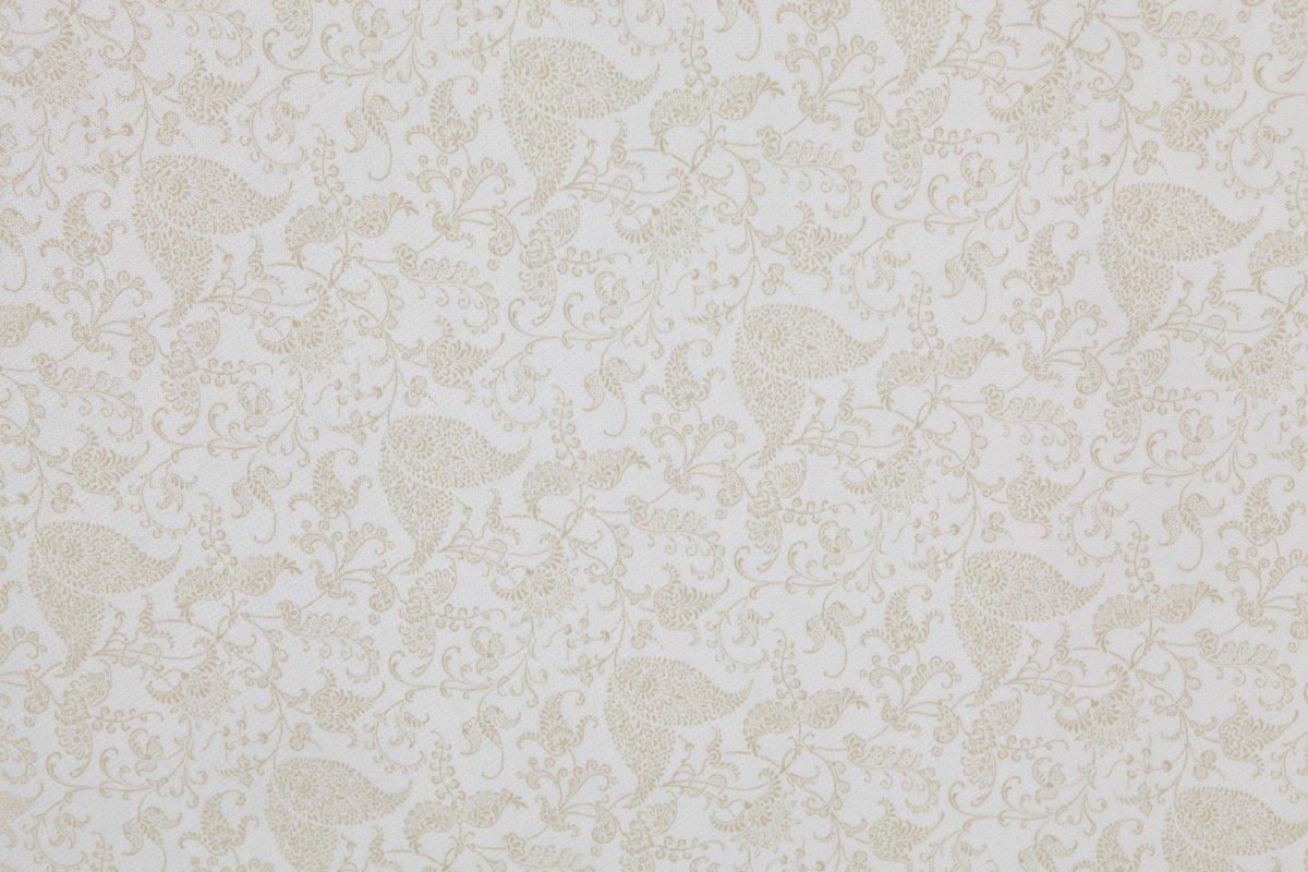 Dream On Me 3″ Rounded Corner Playard Mattress, White/Brown