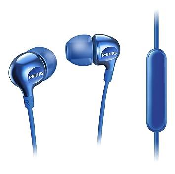 Philips Vibes SHE3705BL - Auricualres in-Ear (micrófono para Cambiar Entre la música y