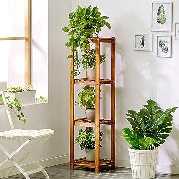 4 rangées fleur en bois/porte-plantes/étagère jardin plante ...